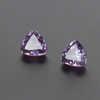 1.70 Ct Certified Natural Color Change In Sunlight Alexandrite Pair Loose Gems