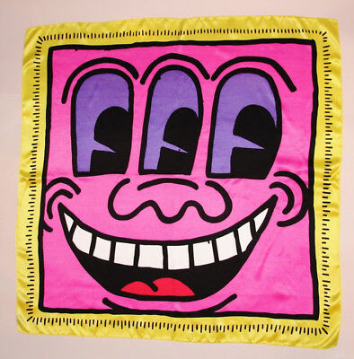 Keith Haring  Scarf 100% silk - édition Patricia Field