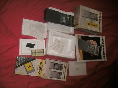 Psion Organiser II WITH DATAPAK ALL BOXED WITH INSTRUCTIONS AND RECEIPTS