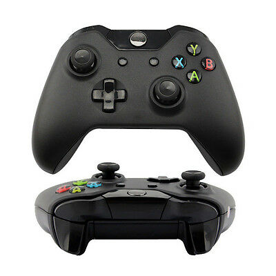 New Black Wireless Game Remote Controller for Microsoft Xbox One Console jn