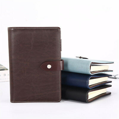 A6 Leather Cover Little Vintage Journal Notebook Lined Paper Diary Planner