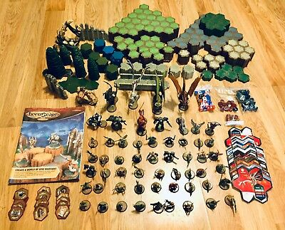 Heroscape Lot Terrain Over 500 Hex's, Cards, Dragons, Figures more...