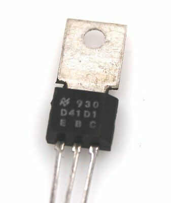 D41D1 -  PNP SILICON POWER TRANSISTORS.  Lot of 1, 3, or 10
