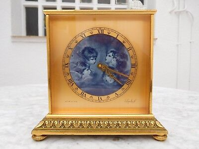imhof clock angels dial repeater half hours and hours striking 8 days