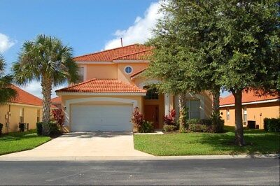 235 Florida Vacation villa 6 bedroom private Pool and Spa special rate
