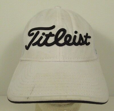 TITLEIST BY NEW Era Flex Fit Golf Hat Size M L Embroidered  1 ... 09608497ced7
