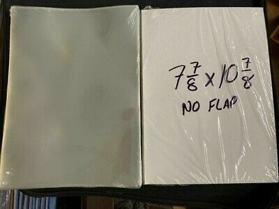 """50 E. Gerber Mylar Archives 4 Mil Thick Comic Book Bags sleeves (7 13/16"""" x 11"""")"""