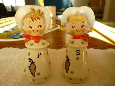 Holt Howard Like Cowboy and Cowgirl Salt and Pepper Shakers