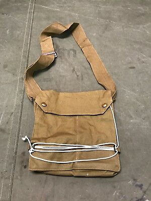 Wwi Us & British M1917 Sbr Gas Mask Carry Bag