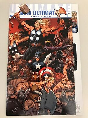 Ultimate New Ultimates #1 (2010) NM 9.4 Frank Cho Wrap Around Fold Our Cover