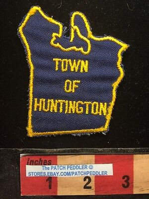 Unknown State Vintage TOWN OF HUNTINGTON PATCH 64V