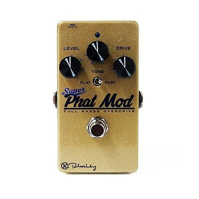 """Keeley """"Super Phat Mod"""" Full Range Overdrive Pedal - New BLOWOUT Special!"""