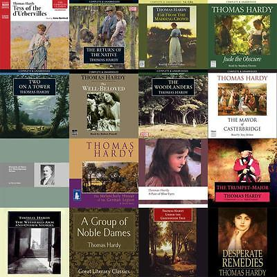 Thomas Hardy - Huge Collection of Audiobooks on mp3 DVD