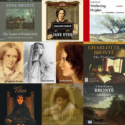 The Bronte Sisters - Huge Collection of Audiobooks on mp3 DVD