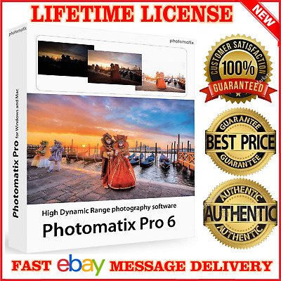 Hdr Photomatix Pro 6 Mac Windows Photo 🔑 Lifetime License 🔑 Email Delivery📩