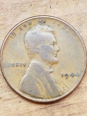1944 Lincoln Wheat Cent Penny Coin with DDO Double Die Error