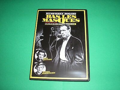 "DVD neuf ,""BAS LES MASQUES"",humphrey bogart,kim hunter"
