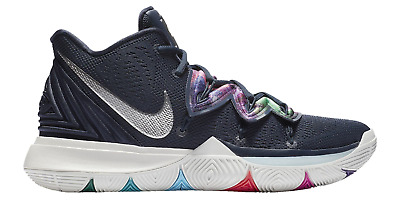 65126dd5744b Nike Kyrie 5 EP Multi-Color V Irving Navy Mens Basketball Shoes KI5 AO2919-