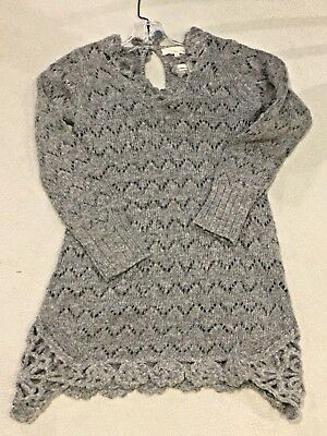 ODD MOLLY-- With Love Short Dress In Grey Melange --Sample Size 1 (small)