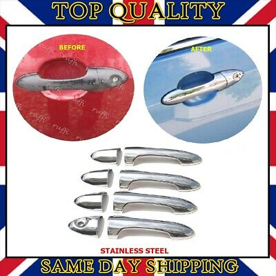 Chrome Door Handle Cover 2 dr S.STEEL Ford Focus Mk1 Coupe 1998 ...