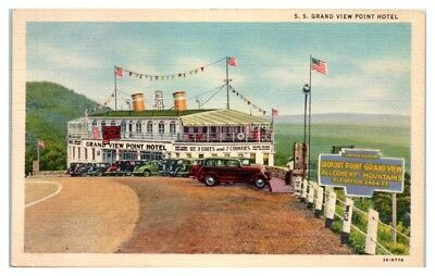 S.S. Grand View Point Hotel near Bedford, PA Postcard