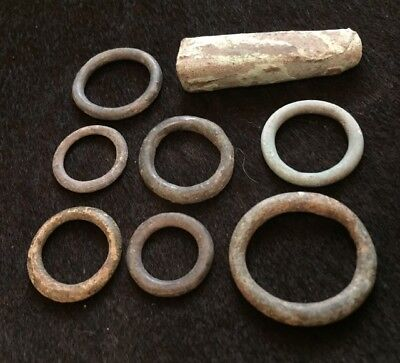 Celtic ancient  proto coins rings , Viking payment ingots 1-4 century BC