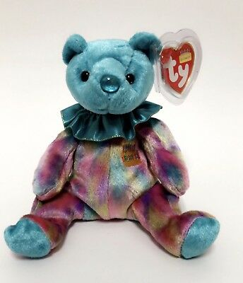deb016d61ab TY BEANIE BABIES December Bear From The Birthday Beanies Collection ...