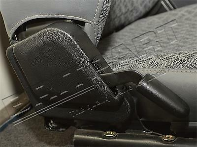 Land Rover Defender 90 / 110 / 130 Front Seat Handle & Cover Kit For 2 Seats