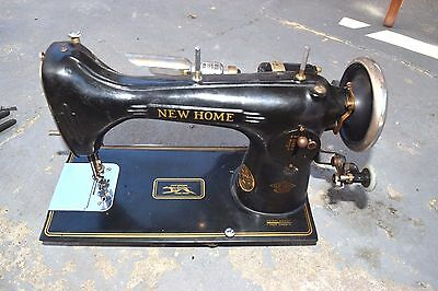 Vintage New Home Westinghouse Rotary Sewing Machine Art Deco Style