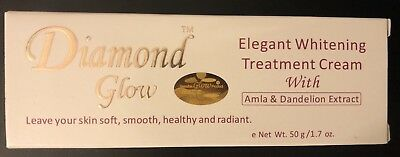 Dimond Glow Elegant Whitening Treatment Cream W Amla & Dandelion Extract 50g