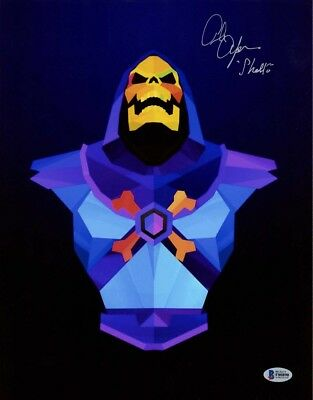 ALAN OPPENHEIMER SIGNED AUTOGRAPHED 11x14 PHOTO VOICE SKELETOR MOTU BECKETT BAS