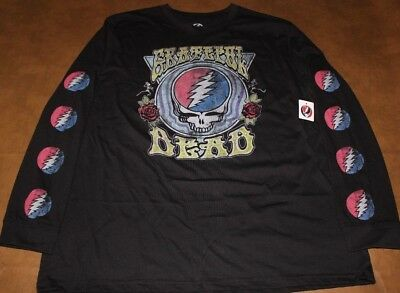 New Grateful Dead Long Sleeve Licensed Shirt Mens Extra Large XL
