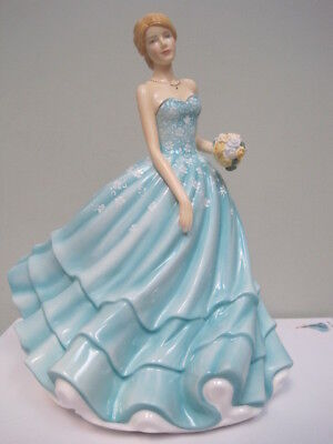 "$320 Royal Doulton Happy Birthday Figure 2018 of the Year Figurine HN5870 8"" NIB"