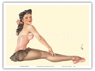Miss June 1944 Esquire Magazine - Vargas Vintage Pin Up Calendar Print