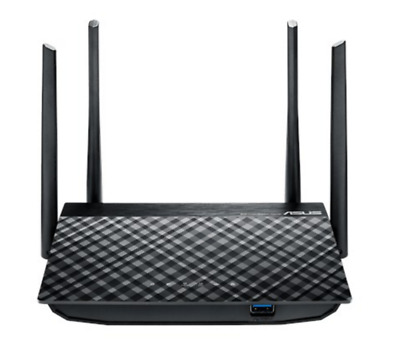 Asus RT-AC58U AC1300 Dual Band WiFi Router, features quad-core A7 processor with