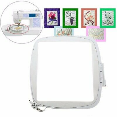 200X200mm Embroidery Quilter's Hoop 8''x8'' For Embroidery Machine Square White