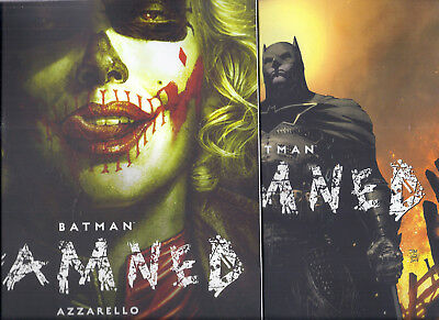 Dc Black Label Batman Damned #2 And #2 Jim Lee Variant Cover Harley Quinn! Nm