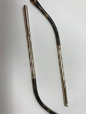 bc60eda4ddca For Parts Temple Arm Replacement Legs BOTH Burberry B 2190 3002 140mm DJ48