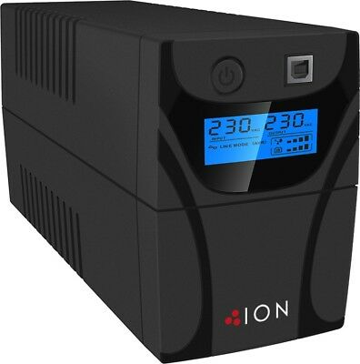 ION F11-650VA Line Interactive UPS 2x AU Outlets LCD Phone Protection USB [4]