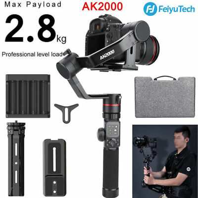 Feiyu AK2000 3-Axis Handheld Stabilized Gimbal for Mirrorless and DSLR Camera BS