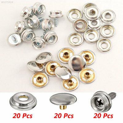 27D4 Practical Fastener Snap Button Baby Carriages Sewing Bolts Metal Craft