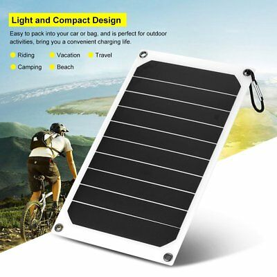 Portable 10W 6V IP64 Waterproof Solar Panel Phone Battery Power Charger Outdoor