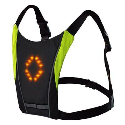 Wireless Bike Bicycle Vest W/turn Signals Bicycle Cycling Safety Light Jacket