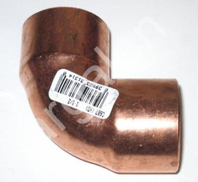 "Copper 90 Degree Elbow 1-1/2"" Nibco Wrought Pressure Tube Ell Sweat Fitting NEW"