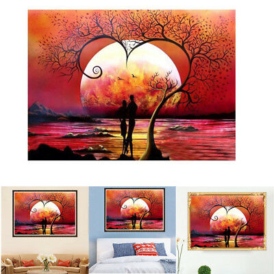 5D Diamond Painting Diamant DIY Kreuzstich Stickerei Malerei Lover Gemälde