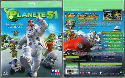 BLU-RAY + DVD - PLANETE 51 - Animation - NEUF