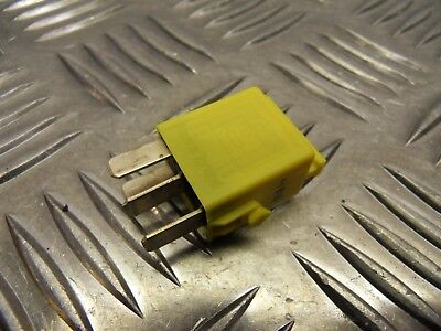 BMW R1200 R Yellow mini relay (61366902041) 2010 to 2014