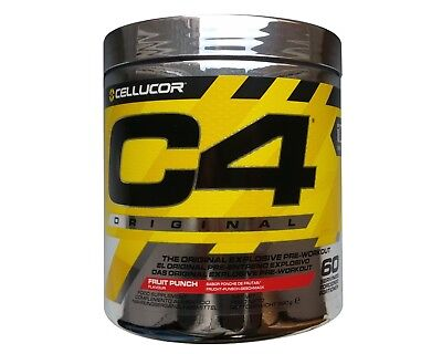 CELLUCOR C4 ORIGINAL 60 - 30 serv. 390g - 195g ID SERIES PRE WORKOUT WORLDWIDE!