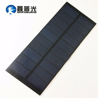 5v/2w PET Solar Panel PCB Poly Module for DIY Kits Toy Battery Charge Education