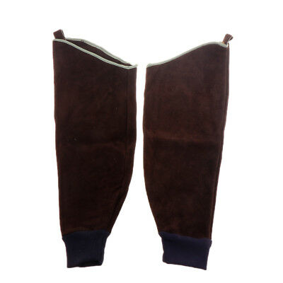 Heavy Duty Cowhide Leather Welding Sleeves Protective Guard Sleeves For Arms